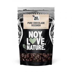 Pure chocolade rozijnen