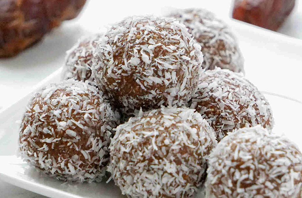 Vegan bliss balls snack glutenvrij