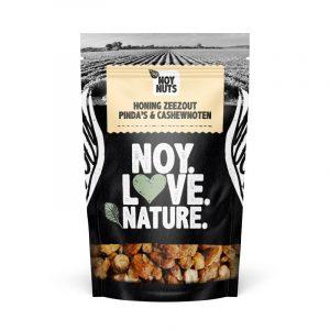 honing zeezout pinda's cashewnoten