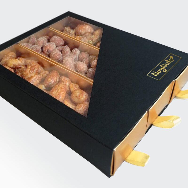 Luxe noten cadeaubox