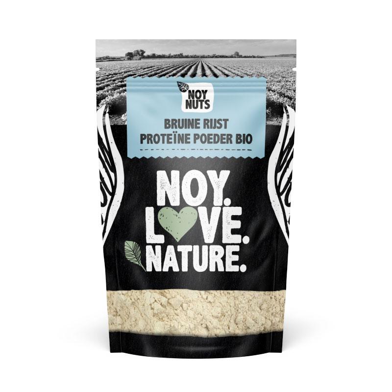 Biologische bruine rijst proteine poeder