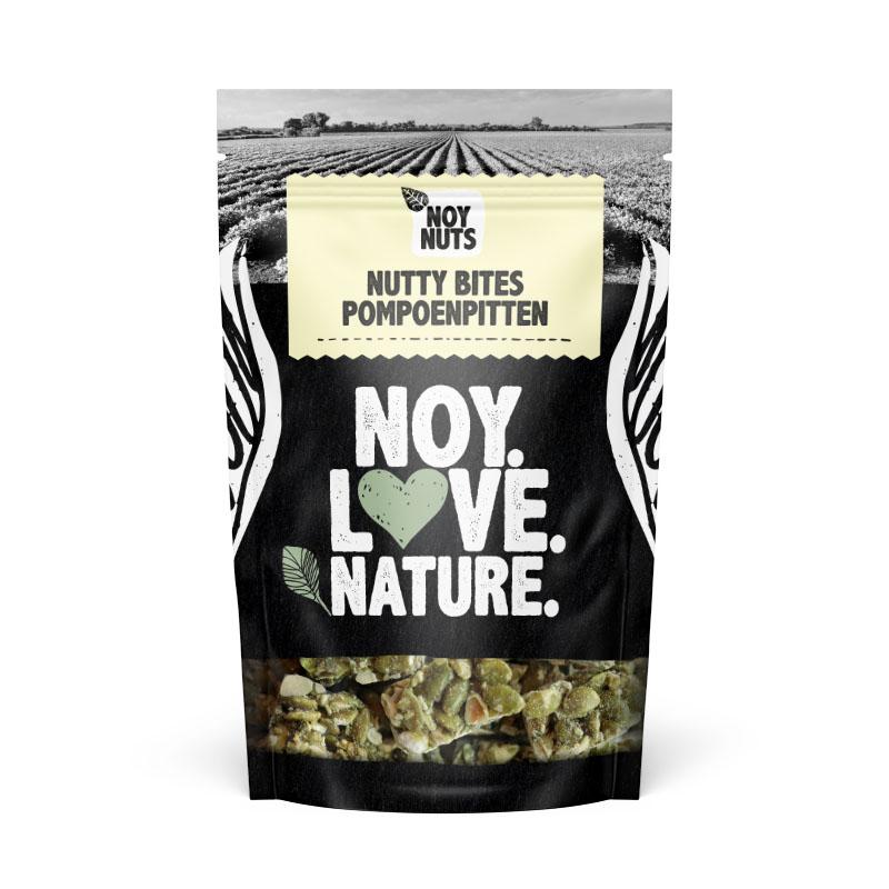 Nutty bites pompoenpitten noynuts